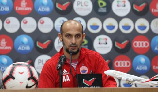 العنبري: مباراة الإمارات ستكون صعبة وسنلعب من أجل الفوز