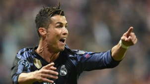 Cristiano Ronaldo Real Madrid celebration
