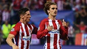 Antoine Griezmann Fernando Torres Atletico Leicester