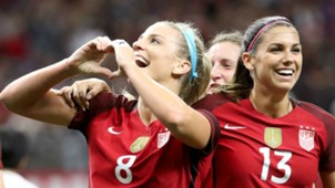 Julie Ertz Alex Morgan U.S. women's national team