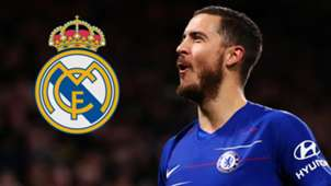 Eden Hazard Real Madrid GFX