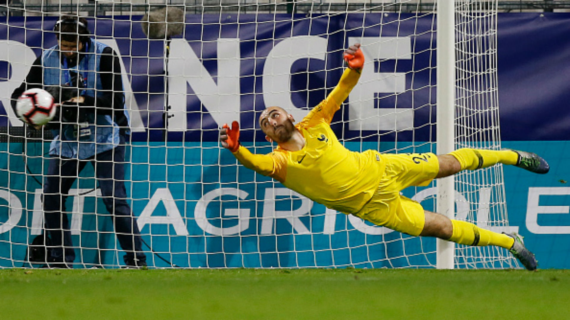 Paul Bernardoni France U21