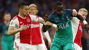 Sissoko Tadic Ajax Tottenham Champions League