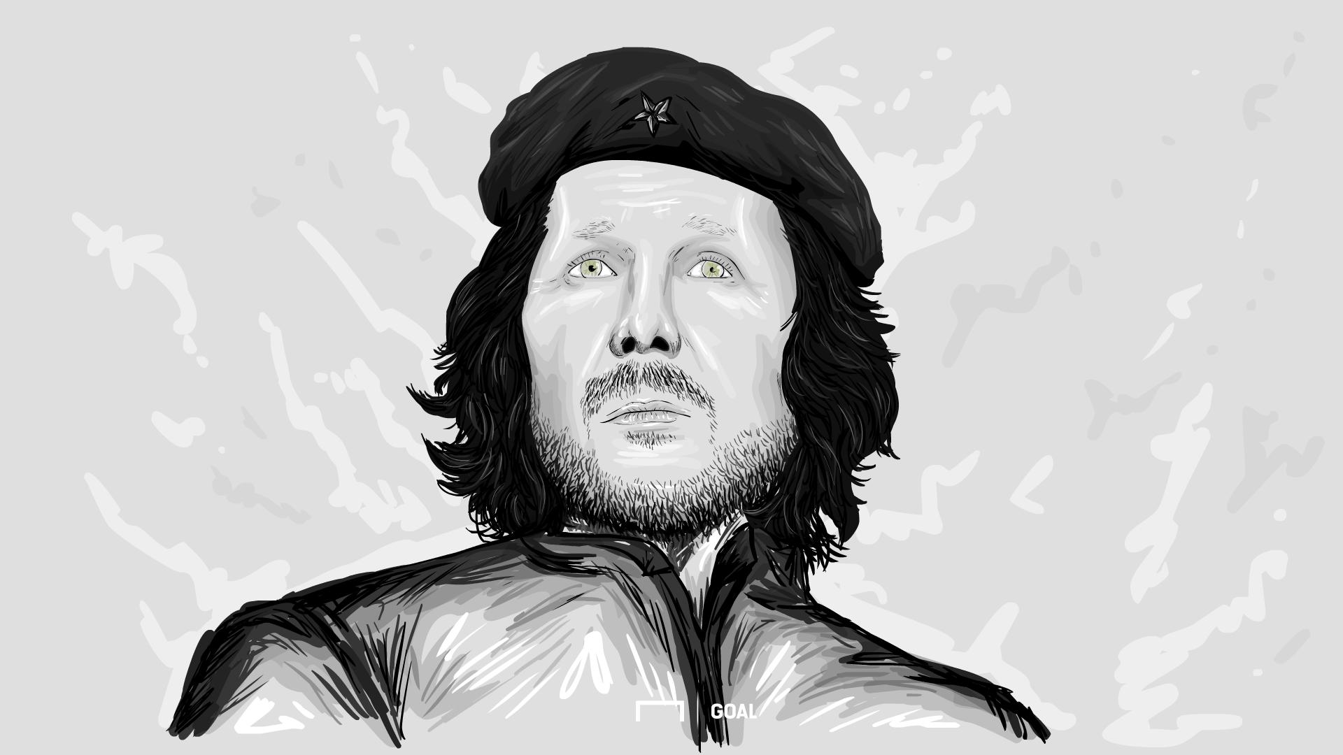 Cholo Simeone a lo Che Guevara