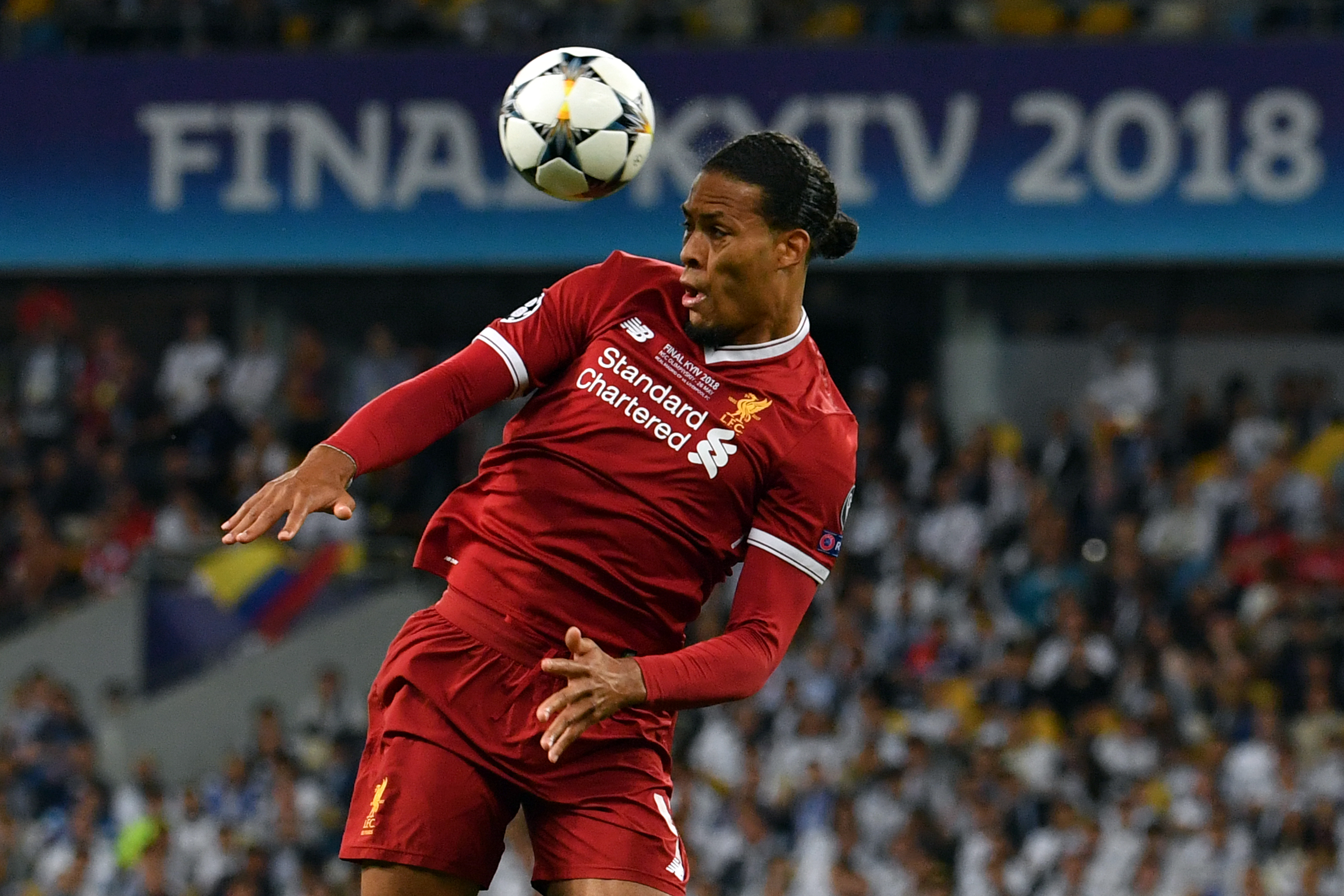 Virgil Van Dijk Liverpool Champions League