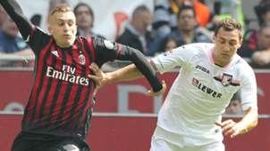 Deulofeu Chochev Milan Palermo Serie A