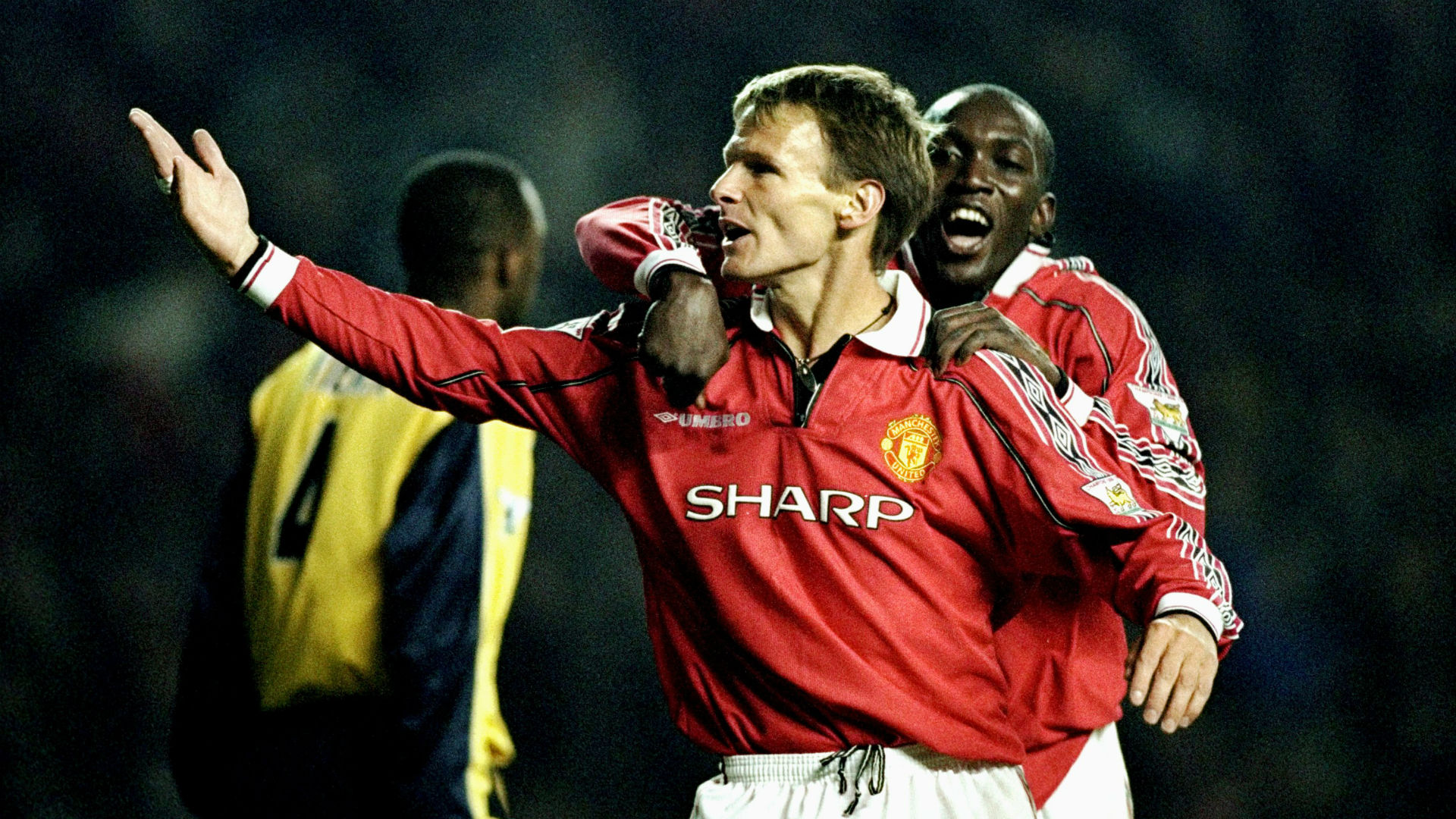 Teddy Sheringham Manchester United Arsenal