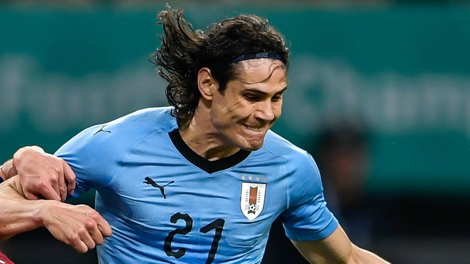 Edinson Cavani encore buteur avec l'Uruguay ce lundi — PSG