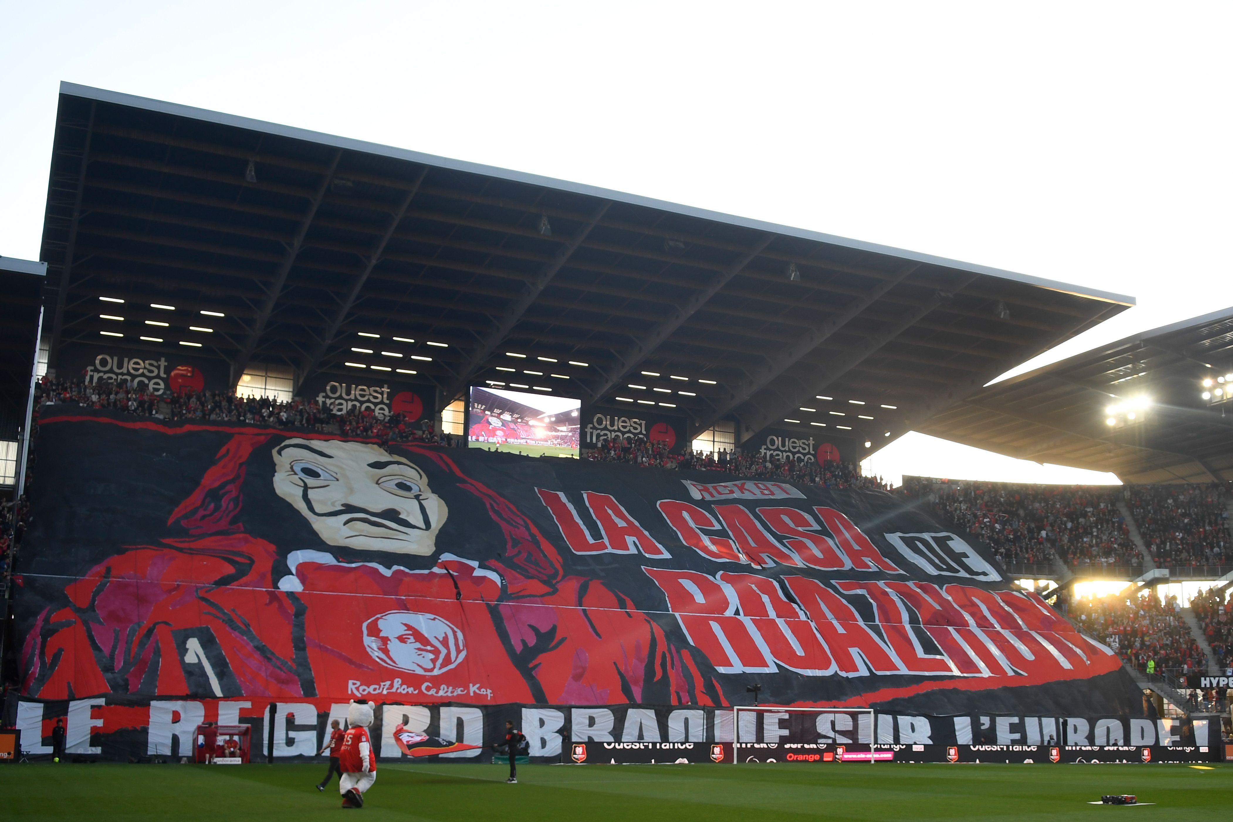 Ligue 1: Le Stade Rennais à l'honneur dans la