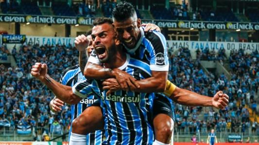 Maicon Léo Moura Grêmio Santos Brasileirão 07 05 2018