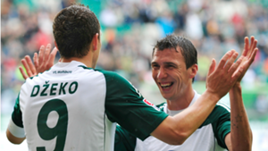 Dzeko Mandzukic Wolfsburg
