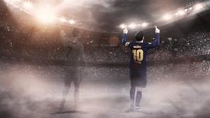 Messi Ronaldo composite