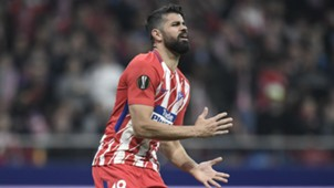 Diego Costa Atletico Madrid Europa League
