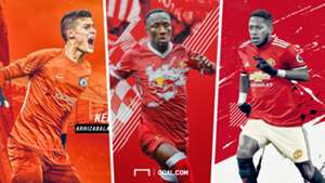 Fred Manchester United Kepa Chelsea Naby Keita Livepool