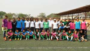 Super Falcons - Wafu Cup