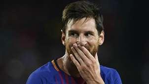 Lionel Messi Barcelona Real Madrid Supercopa España 13082017