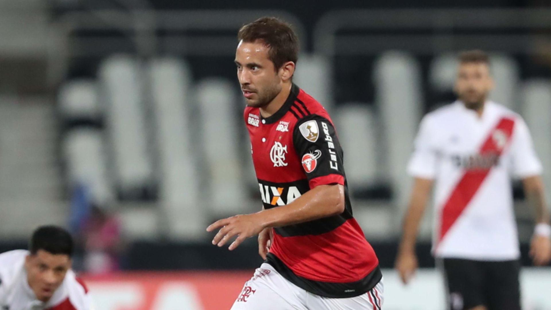 Everton Ribeiro Flamengo River Plate 28022018 Copa Libertadores
