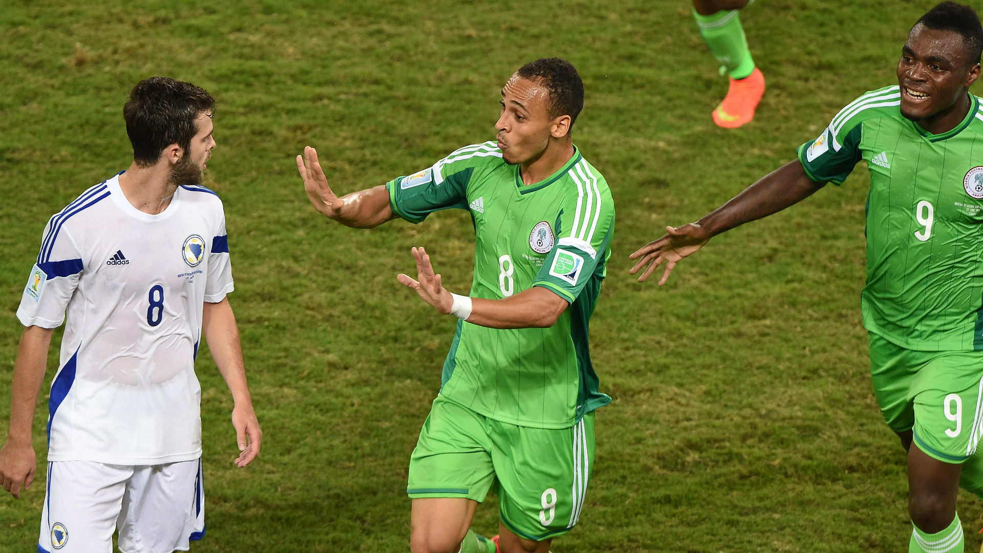 Osaze Odemwingie announces his retirement from football in an emotional way