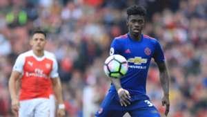 Alexis Sanchez Arsenal Axel Tuanzebe Manchester United Premier League