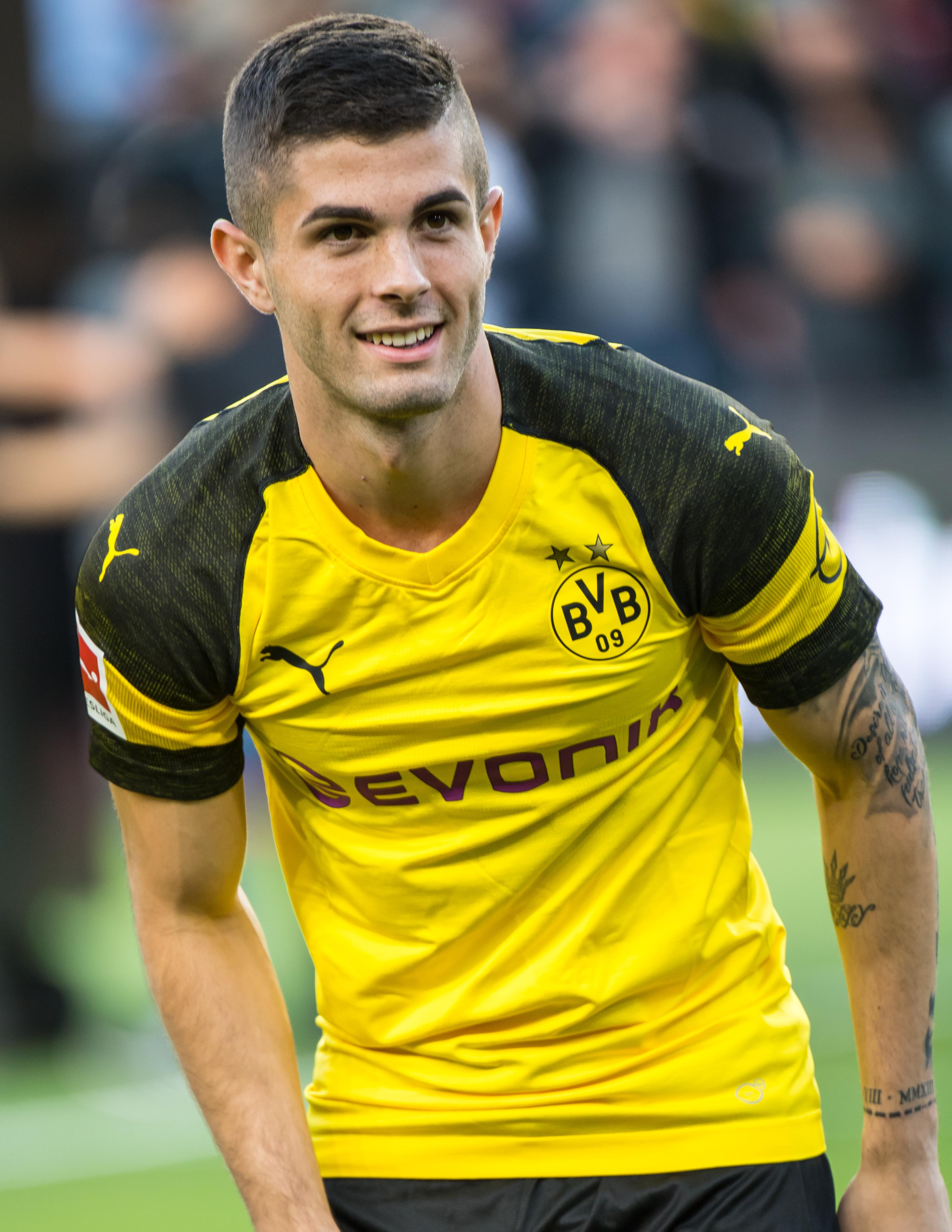Christian Pulisic Dortmund 2017-18