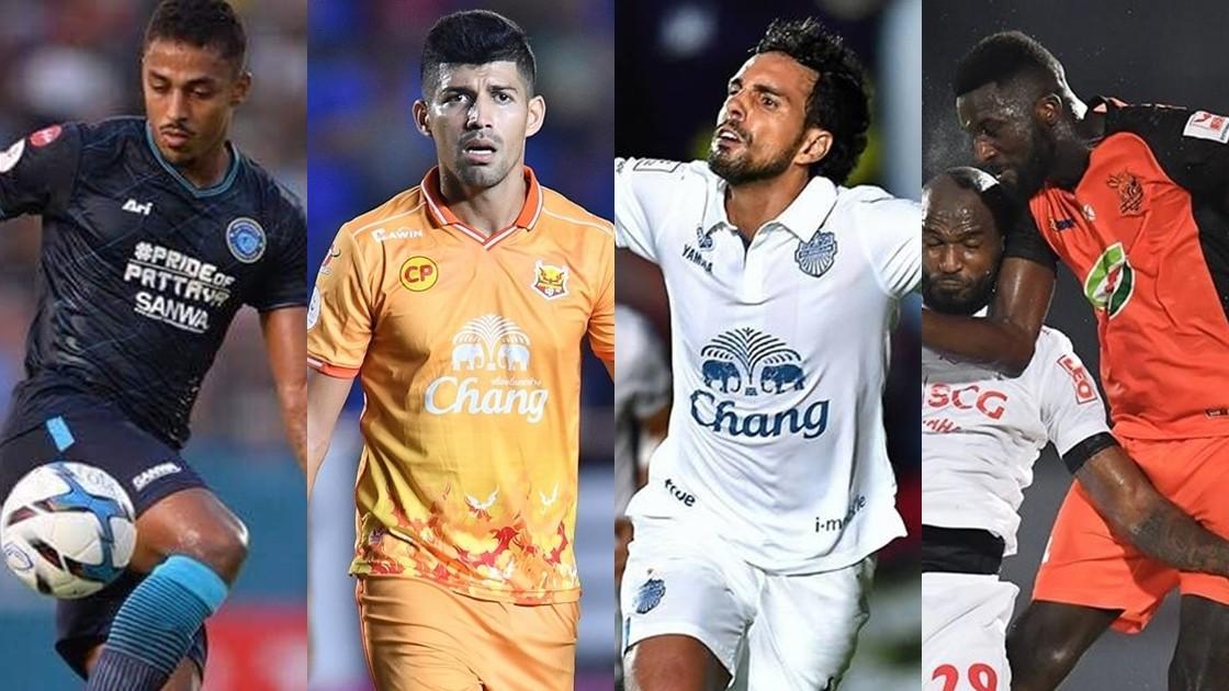Image result for Thai League Top Scorer : สรุปอันดับดาวซัลโวไทยลีก 