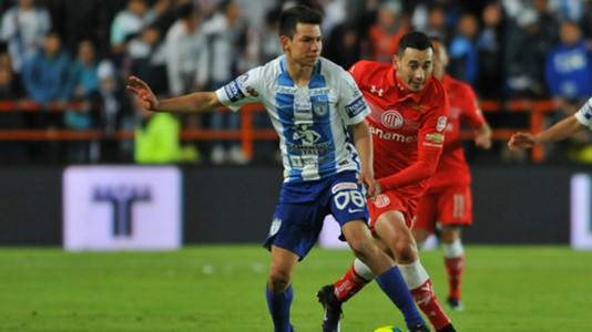 Hirving Lozano Pachuca Rubens Sambueza Toluca Liga MX