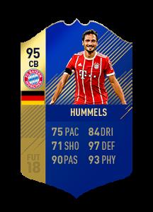 FIFA 18 Bundesliga Team of the Season Mats Hummels