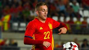 Gerard Deulofeu with Spain shirt