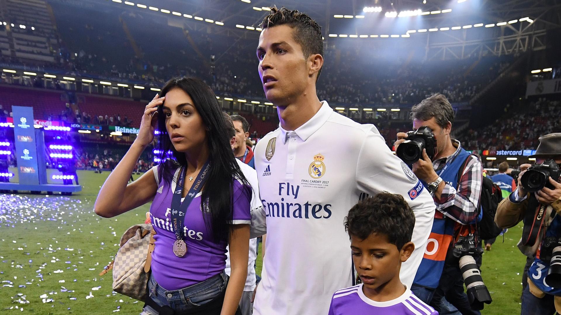 Cristiao Ronaldo hijo Georgina