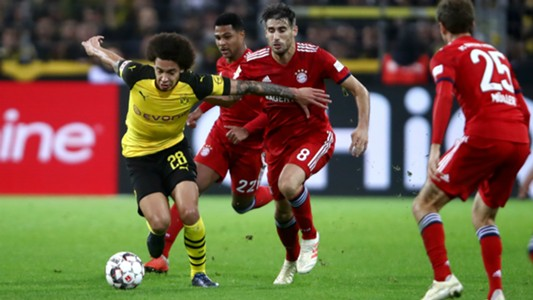 Axle Witsel Javier Marrtinez Dortmund FC Bayern 10112018