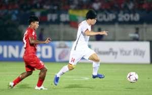 Công Phượng 5 - Myanmar vs Vietnam AFF Suzuki Cup 2018