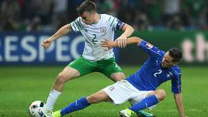 Mattia De Sciglio Seamus Coleman Italy Republic of Ireland Euro 2016 22062016