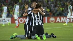 Roger Camilo Botafogo Atlético Nacional Libertadores 14 04 2017
