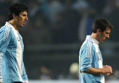 Burdisso contó detalles del día que se peleó con Messi