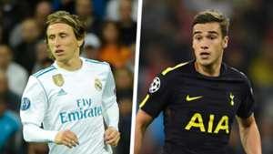 Luka Modric Harry Winks Real Madrid Tottenham Split