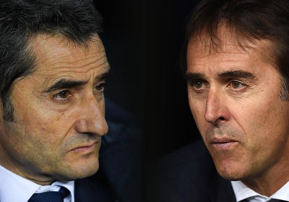Ernesto Valverde vs Julen Lopetegui