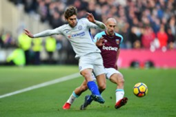 9-12 West Ham - Chelsea ratings Alonso