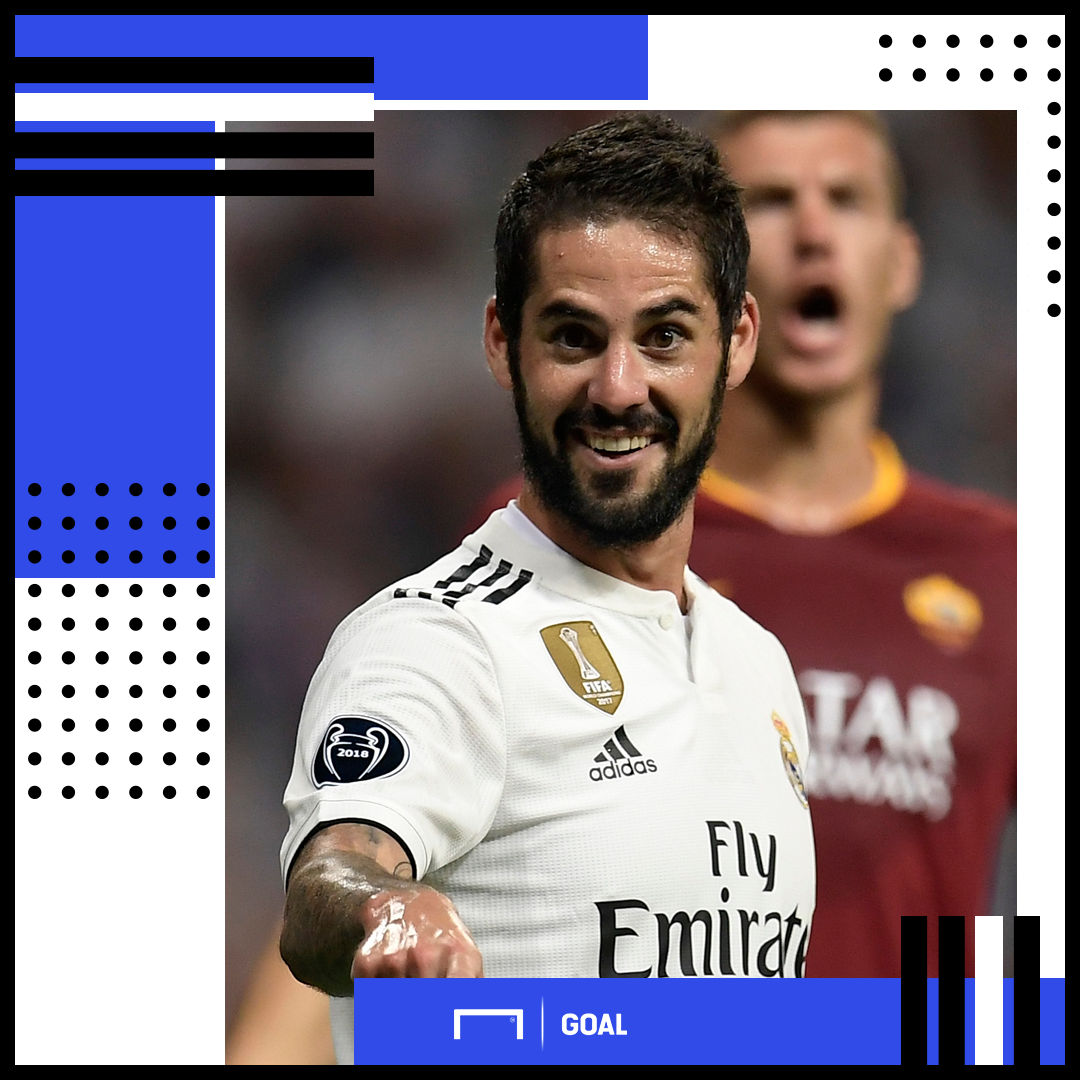 Isco Real Madrid PS