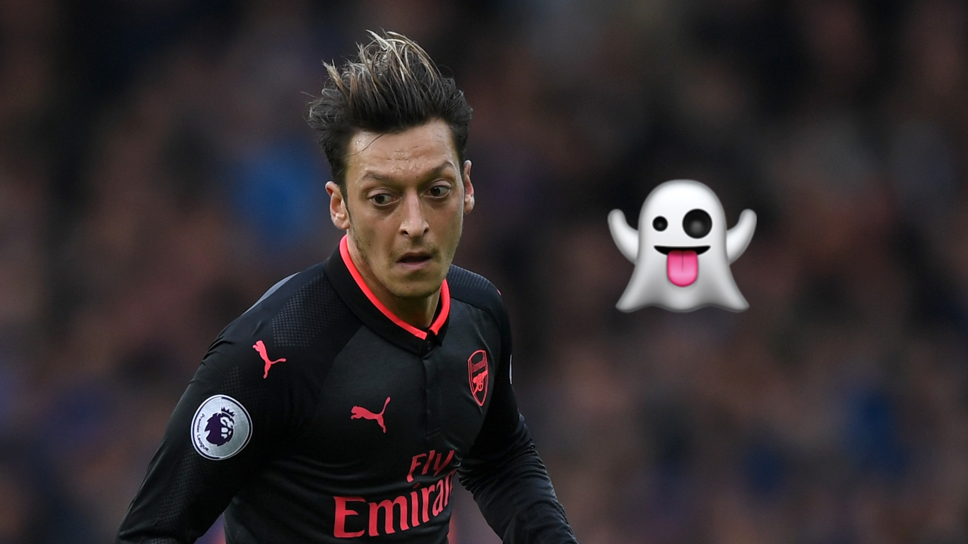 'He was just a ghost' - Petit hammers Ozil's performance vs Man City