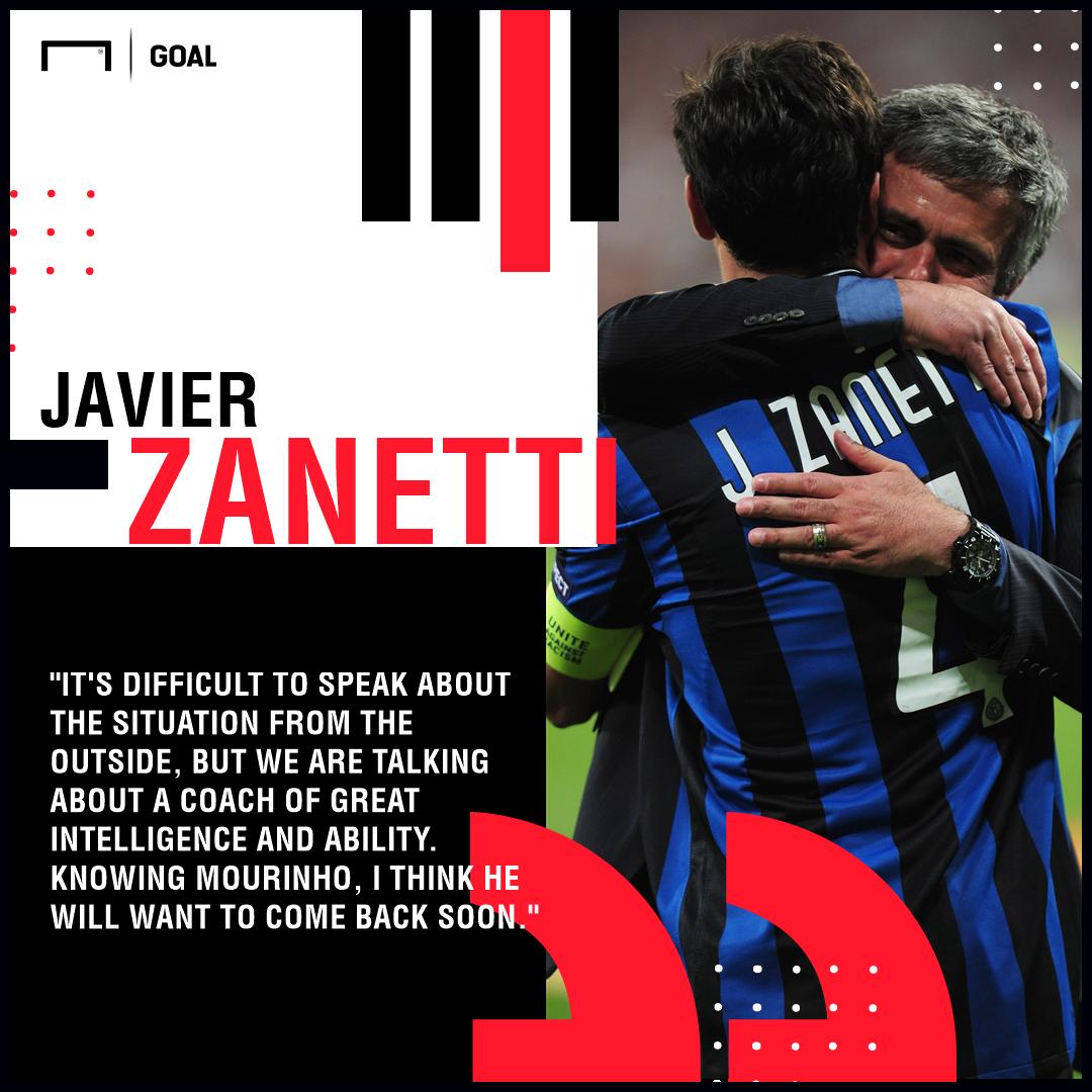 Javier Zanetti Jose Mourinho Inter PS