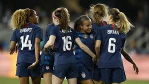 Mallory Pugh U.S. women's national team USWNT 2018