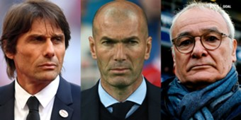 Conte Ranieri Zidane