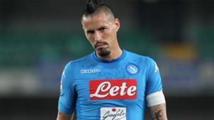 Hamsik Verona Napoli Serie A