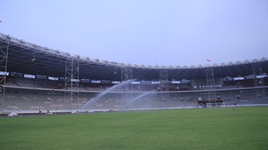 Gelora Bung Karno Main Stadium Not In The Best Condition When