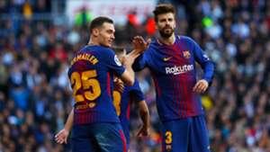 Thomas Vermaelen Gerard Pique Real Madrid Barcelona El Clásico LaLiga 23122017