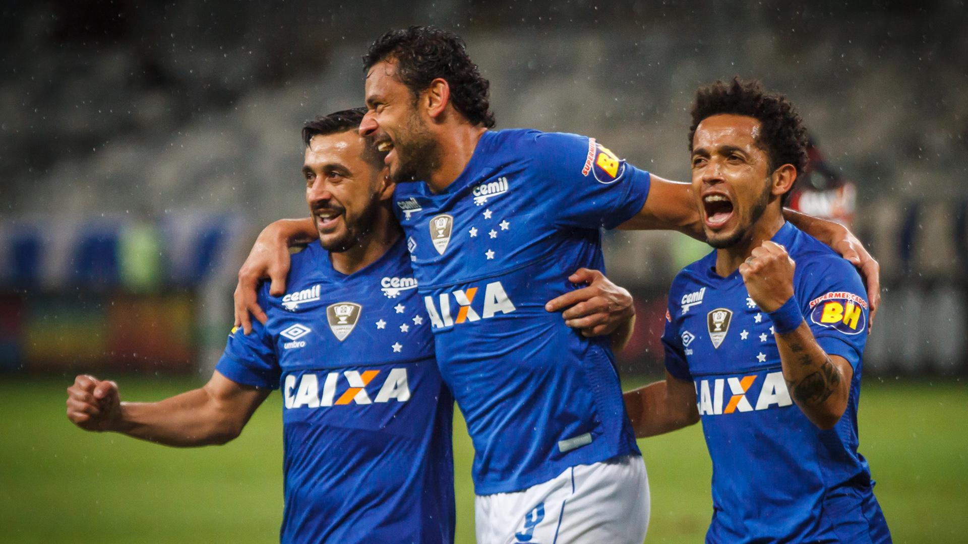 Fred Robinho Rafinha Cruzeiro Vitória Brasileirão Serie A 21112018