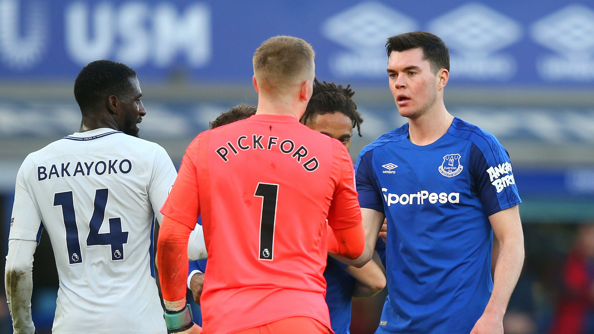 Jordan Pickford Everton Chelsea Premier League
