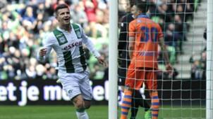 Bryan Linssen, FC Groningen vs. PEC Zwolle, 04162017