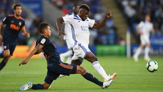 Kelechi Iheanacho, Leicester City vs. Valencia