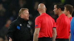 Ronald Koeman, Bas Nijhuis, Everton - Lyon, Europa League 10192017